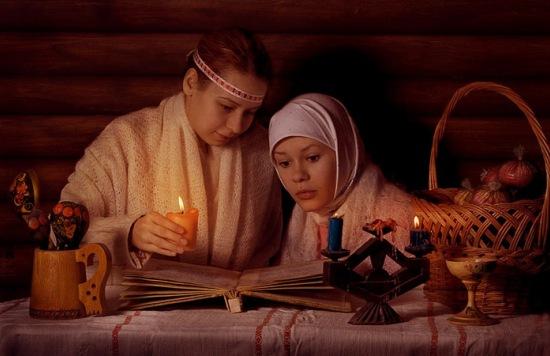 гадание со свечами