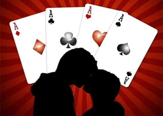 Гадание на картах на отношения парня: Три карты, игральные карты