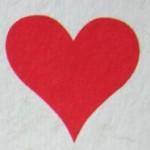 Червы в гадании на игральных картах на любовь
