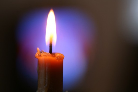 плямя свечи